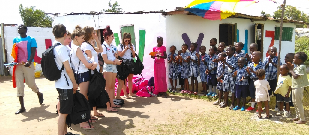 UCW degree Students, trip to Gambia