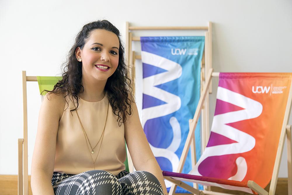 UCW student, Becca Arlington