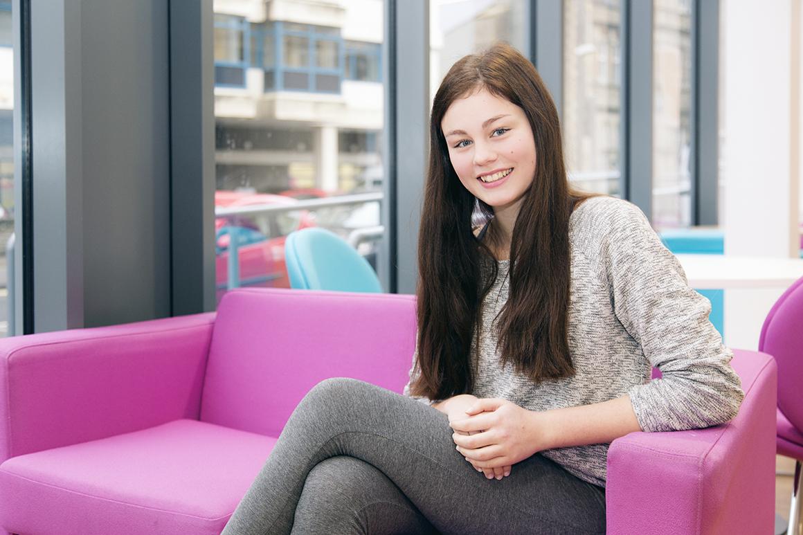 UCW Gap year performing arts student , Sarah hummel