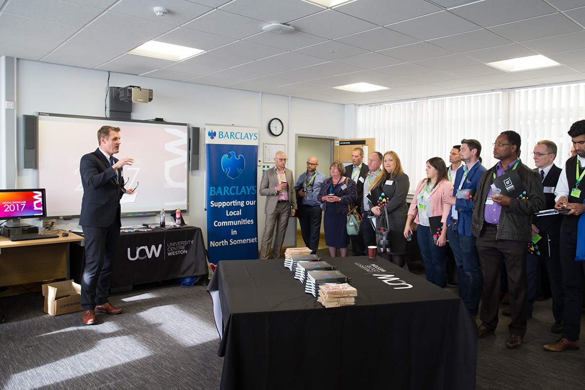 UCW, North Somerset Council, Applied Computing Degree, promoting digital enterprise