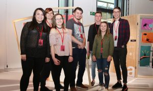 UCW, BA Honours Top-up Degree in Graphic Design, Spectacle exhibition