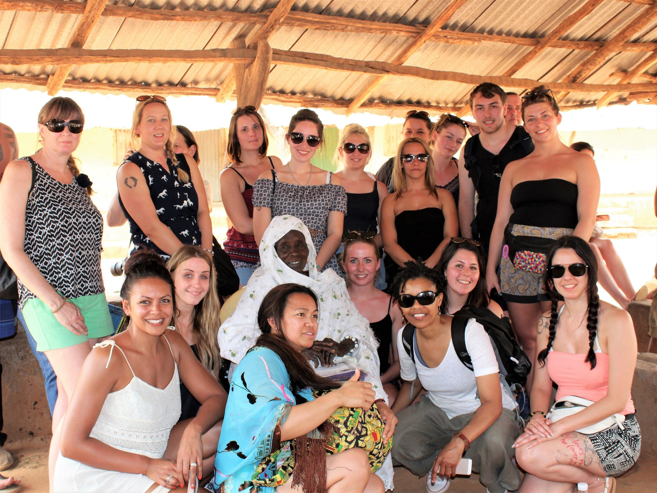 UCW students, Early years and Counselling benefit trip to Gambia