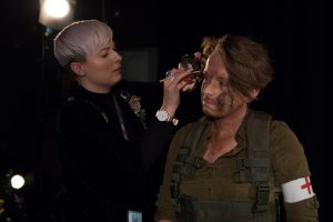 UCW students, Hair, make-up prosthetics and lens-based media, SFX wounds