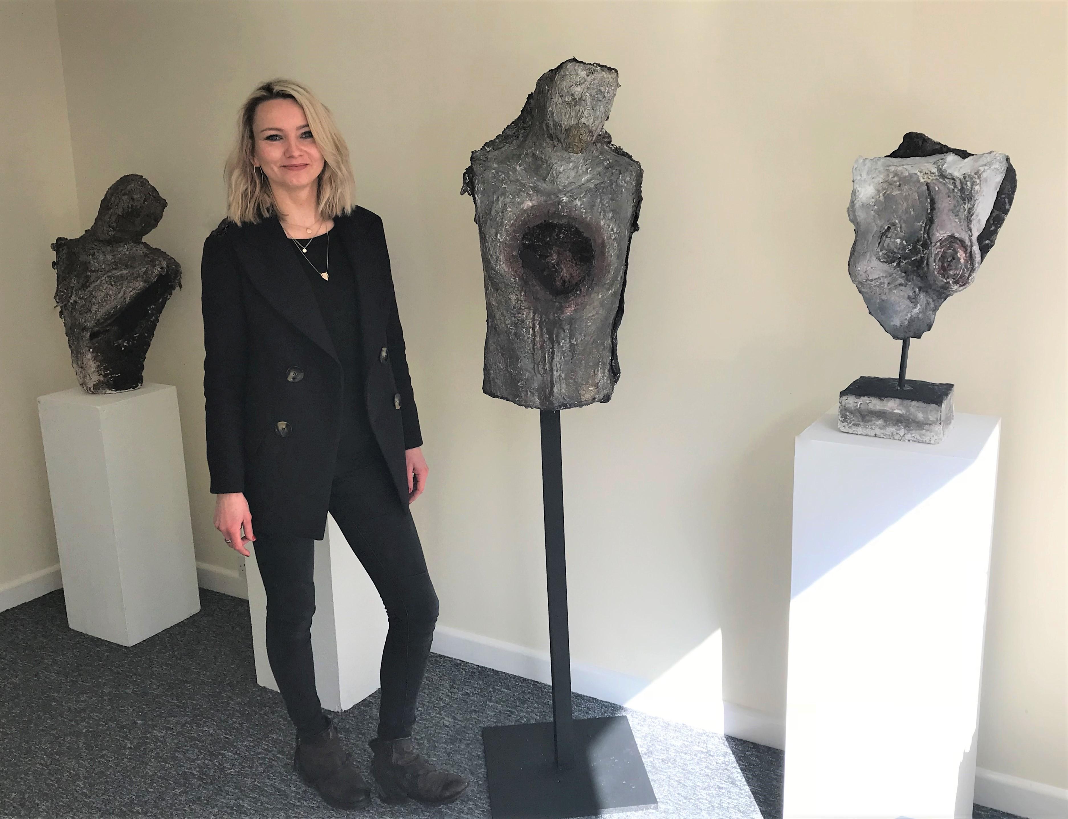 UCW Contemporary Art and Professional Studies student, Mari Em sculptures