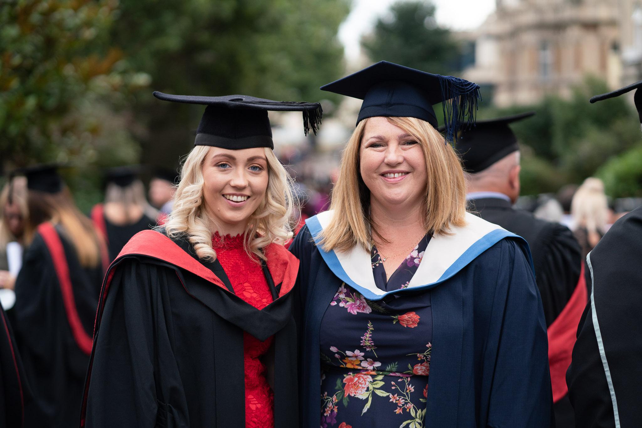 Lauren and Joanne Pendleton - UCW Graduation 2018