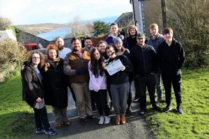 student filmmakers produce film recognised by film festivals UCW
