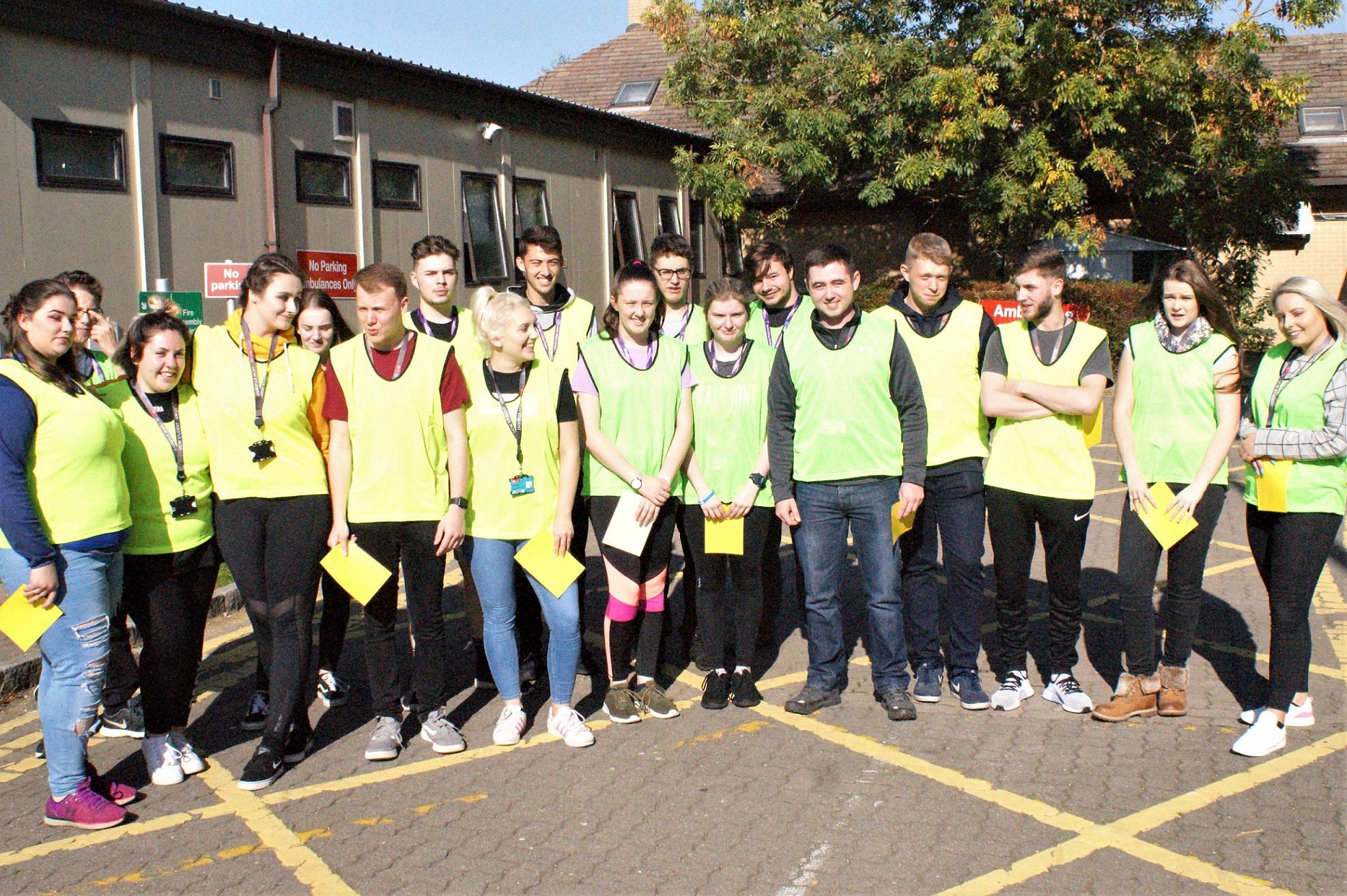 Students Weston General Hospital UCW training exercise