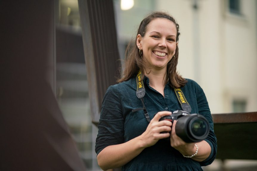 UCW student profile, photography